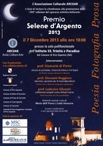 Premiazione Selene d'Argento 2013