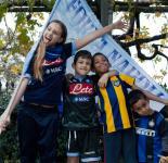 La gioia è Vittoria - Giulia e Diego Castellano, Daniele e Davide Nzanana